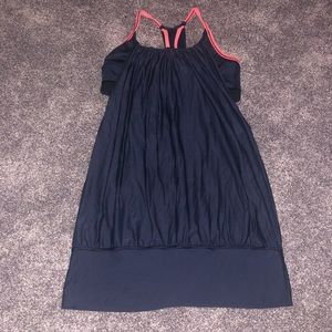EUC Lululemon tank with built in sports bra